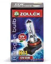 Zollex 59524 Лампа галогеновая H11 LL (12V, 55W)