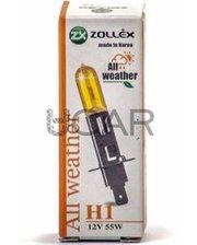 Zollex 60824 Лампа галогеновая H1 All Weather (12V, 55W)