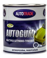 Auto trade Мастика резинобитумная Autogum, 4,3 кг