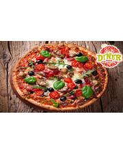 """Скидка 50% на всю пиццу от пиццерии """"Diner"""" на Оболони"""