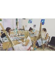 """Двогодинний майстер-клас з живопису маслом у творчій майстерні """"Art Garden"""" зі знижкою до 70%"""