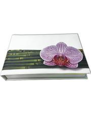 Старт-Полиграф Блокнот MiniNotes со стикерами Post-it, в твердой обложке «Орхидея»