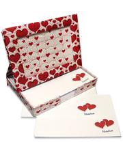 Старт-Полиграф Фоторамка - диспенсер 9х13см FrameNote, с блоком бумаги для заметок «Сердечки»