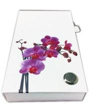 Старт-Полиграф Набор из стикеров и закладок PET NotesMark «Орхидея 2»