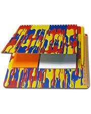 Старт-Полиграф Блокнот-планшет NotePad со стикерами Post-it «Краски»