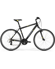 Merida CROSSWAY 15-V MATT BLACK (YELLOW\GREY)