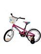 "LEROCK RX16 Girl 16"" розовый + корзинка pink/white"