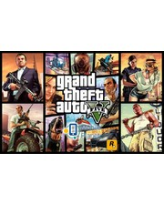 Rockstar North GTA 5 RUS (PS4)