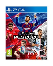 Konami Pro Evolution Soccer 2020 RUS (PS4)
