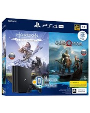 Sony Playstation 4 Pro 1Tb Black + God of War + Horizon Zero Dawn CE UA