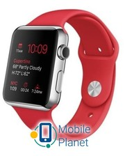 Apple Watch 42mm Stailnless Steel Case with (PRODUCT)RED Sport Band (MLLE2)