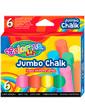Colorino Мелки цветные Jumbo, 6 цветов,