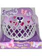 Sparkle girlz Набор из диадемы и сережек для девочки (сердце), Sparkle girlz, Funville