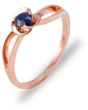 Золотое кольцо Подарок с Сапфиром