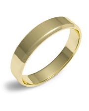 Золотое обручальное Кольцо Амфаска 3 мм