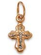 Золотой крестик 4/1001
