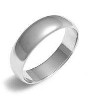 Золотое обручальное Кольцо Радиусное 4 мм