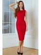 Vilenna Эффектное платье-футляр без рукавов. Артикул: 3475
