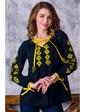 Vilenna Блуза-вышиванка с застежкой на пуговицах. Артикул: 3422