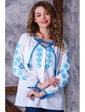 Vilenna Блуза-вышиванка с застежкой на пуговицах. Артикул: 3421