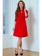 Vilenna Стильное трикотажное платье с отделкой кантом. Артикул: 3465