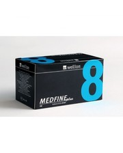 Иглы Wellion MEDFINE plus (Веллион Медфайн плюс) 8 мм № 100