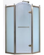 Volle GRAND TENERIFE 100x100 10-22-166 Bronze, с распашной дверью без поддона