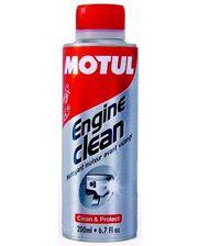 Motul ENGINE CLEAN MOTO (200мл.)