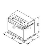 Bosch S3 53Ah 242x175x175