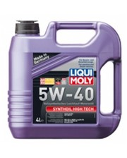 LIQUIMOLY Моторное масло Liqui Moly SYNTHOIL HIGH TECH 5W-40 (4Л.)