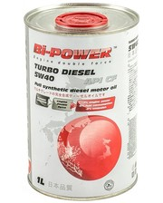 BIPOWER Моторное масло Bi-Power Japan Oil Turbo Diesel 5w40 (1л.)