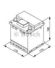 Bosch S4 Silver 44Ah 175x175x190
