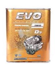 EVO D7 5W-40 TURBO DIESEL 1л