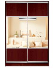 Матролюкс Шкаф купе на 2 двери + фасады из ДСП, зеркал + комбинированные фасады