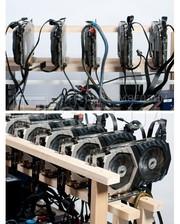 Майнинг ферма SMT 5 GPU GTX 1060 3GB Easy