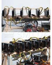 Майнинг ферма SMT 6 GPU GTX 1070TI 8GB Easy
