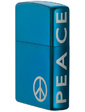 Zippo 21055 PEACE ON THE SIDE