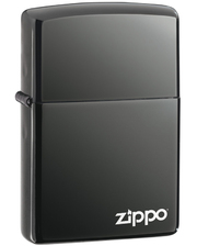 Зажигалки Zippo Зажигалка  150ZL Black Ice with  Logo фото