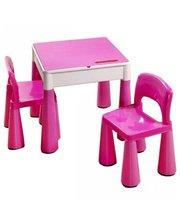 TEGA Mamut MT-001 (стол plus 2 стула) Pink
