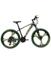 Make bike литые диски 26/ рама 17 черно-зеленый (MTB2GREEN)