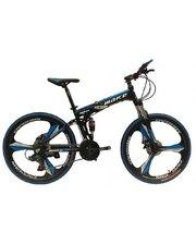 Make bike складная рама 17/ литые диски 26 черно-синий (FB1BLUE)