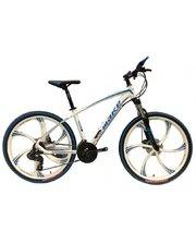 Make bike литые диски 26/ рама 17 бело-синий (MTB2WHITE)