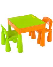 TEGA Mamut MT-001 (стол plus 2 стула) Orange Green