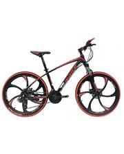 Make bike литые диски 26/ рама 17 черно-красный (MTB2RED)