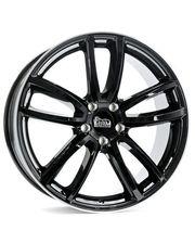MAM S1 9x20/5x112 D66.6 ET50 black lip polished