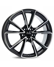 MAM A5 8x18/5x112 D66.6 ET45 Black Front Polished