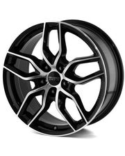Anzio Wheels Spark R17 W7.5 PCD5x114,3 ET37 DIA70.1 BLACK POLISHED