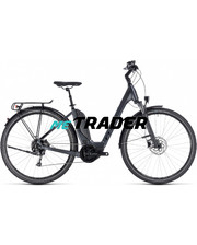 CUBE Touring Hybrid ONE 500 iridium n black