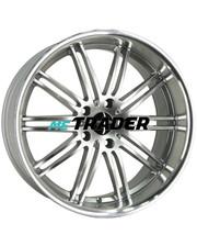 Monaco Chicane 947 R19 W9.5 PCD5x120 ET20 DIA74.1 Hyper Silver / Polished