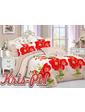 KRISPOL Полуторный комплект постельного белья 3D 49851671 (UAMAG-35416)
